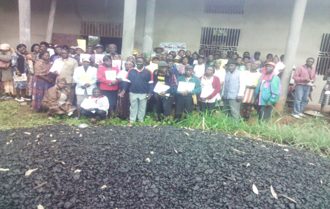 REPORT OF A TRAINING OF PIG FARMERS IN BATIBO SUB-DIVISION